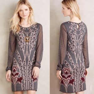 Anthro by Knitted Knotted Saone Sweater Dress XL